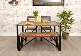 urban chic small dining bench urban chic reclaimed wood shop