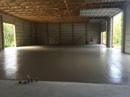 Pole Barn Pa Pole Barn Floor Mechanicsburg Pa Albright Concrete Construction