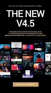 wordpress galley templates cool admin templates for websites and apps photography photography wordpress for photography by themegoods