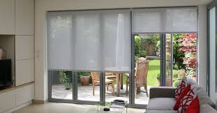 Sheer Roller Blinds For Arched Top Easy To Use Remote Control Battery Operated Roller Blinds In
