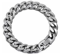 black fashion jewelry bracelet images Top trends factory heavy cuban links chain bracelet for men jpg