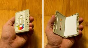 Card Holder Business Cassette Tape Business Card Holder Business Card Holders