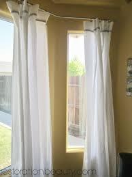 net curtain rods for upvc bay windows integralbook com curtain rod for bay window rods image
