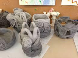 tcds art department 8th grade coil pots