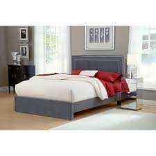 Low Headboard Beds by Low Profile Bed Frame Queen Homesfeed