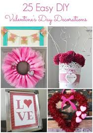 Valentines Day Decor 25 Easy Diy Valentine U0027s Day Decorations Diy