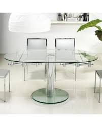 expandable glass dining room tables glass dining room table and