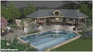 Pool Pavilion Designs Inspirational Pool Pavilions Designs Backyard Escapes