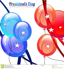 president day balloons royalty free stock photo image 37265565