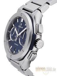 blue titanium bracelet hublot images Hublot classic fusion blue chronograph titanium bracelet ref 520 jpg