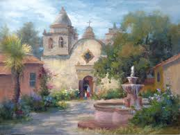carmel mission by johannes vloots oil painting tips oil landscapes landscape painting