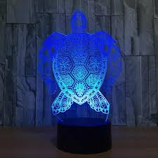 7 colors led turtle lamp my turtle and i