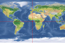 England On A World Map by Where Do Zero Degrees Latitude And Longitude Intersect