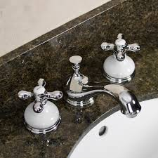tullamore widespread faucet porcelain escutcheons u0026 cross