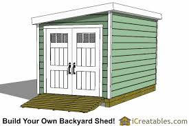 Making Your Own Shed Plans by 8x20 Lean To Shed Plans Storage Shed Plans Icreatables Com