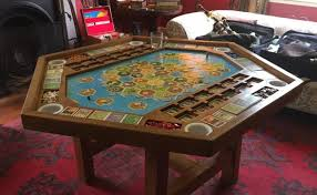 diy board game table this diy settlers of catan gaming table is game room goals