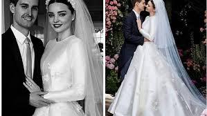 wedding dress miranda kerr miranda kerr shared wedding photos and wow the dress