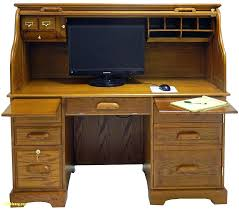 Roll Top Computer Desks Oak Roll Top Computer Desk Solid Corner Desks For Home Office Buy