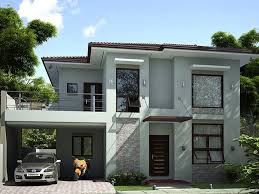 simple modern house designs 2 storey simple modern house design prefered house pinterest
