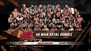 wwe u0027 12 40 man royal rumble match part 1 xbox 360 ps3 hd youtube