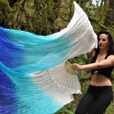 silk fans water silk veil fans festival flow moodhoops