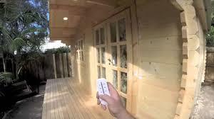 cabin kits galore log cabins australia youtube