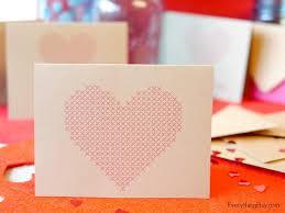 cross stitch cards free printables