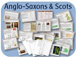 britain u0027s settlement by anglo saxons and scots powerpoint lessons
