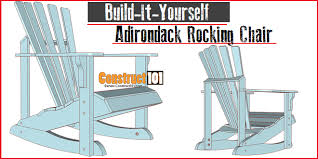 Plans For Outdoor Rocking Chair by Adirondack Rocking Chair Plans Construct101