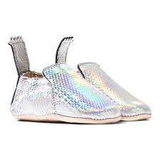 easy peasy silver holographic blumoo crib shoes alexandalexa