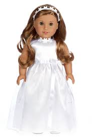 communion dresses for my communion wedding clothes for 18 inch american girl