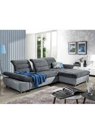 canapé gris foncé canape lit