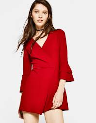 Red Jumpsuits For Ladies Women U0027s Jumpsuits Autumn Winter Collection 17 Bershka