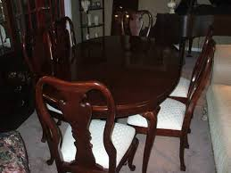 beautifulle thomasville cherry dining room table u0026 8 chairs