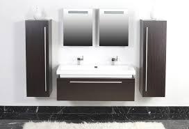 badezimmer schrã nke modernes badmöbel doppelwaschbecken im badezimmer fliesens