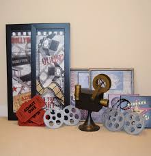 movie themed home decor incorporate vintage flair and movie