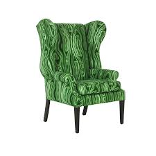 furniture wingback chairs rentals with green color chairs and