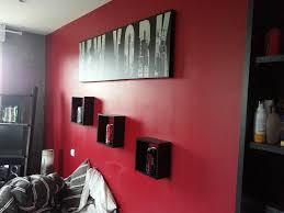 chambre rouge et noir best chambre peinture rouge et gris ideas design trends 2017
