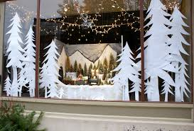 Christmas Window Decorations Photos by Store Window Christmas Displays Trees Were Easy To Do And