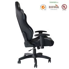 e win high back computer gaming chair with headrest lummyshop