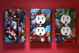 Captain America Decor Marvel Heroes Bedroom Decor Descargas Mundiales Com