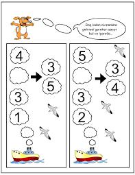 missing number worksheet for kids 23 sayılar pinterest