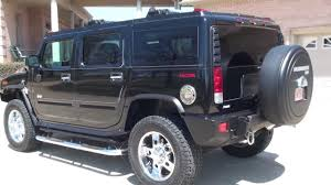 hd video 2006 hummer h2 black navigation low miles used for sale