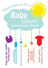 Invitation Cards Free Printable Girls Printable Baby Shower Invitation Rain Cloud Sunshine Rainbow