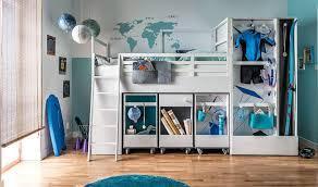 combin bureau biblioth que lit combiné bois enfant armoire bureau bibliothèque et rangement