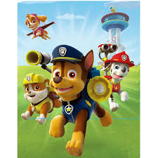 paw patrol portrait canvas led walmart