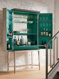 Glass Bar Cabinet Ariana Cheval Bar Cabinet Lexington Home Brands