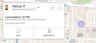 find my android android gets a phone finder service finally ars technica