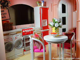 Barbie Dining Room by April 2014 The Waverlys
