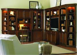 furniture home interior decorating use bookcase with glass doors